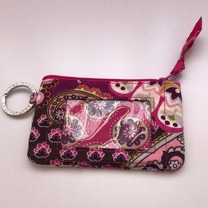 Vera Bradley Coin purse-Very Berry